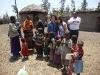 Bambini in attesa della scuola di Karansi