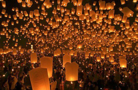 Lanterne in festa